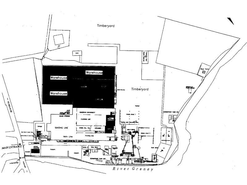 Finsa Layout Map